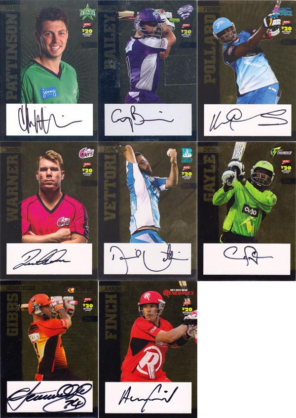 SEP 2012-13 T20 Big Bash League (106) + Specials