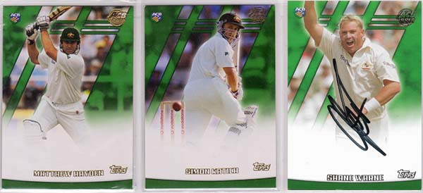 Topps ACB Gold 2001-02 (125) + Specials