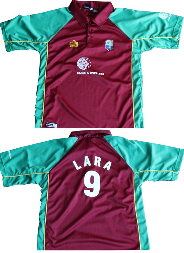 Player Issued Unsigned Gear (West Indies)