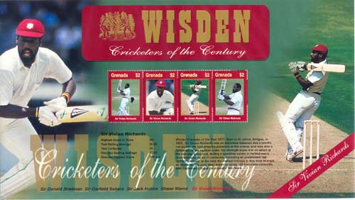 of the Century Sir Vivian Richards, Grenada/Grenada Grenadine 2000